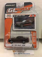 Greenlight GL Muscle * 2011 Ford Shelby GT500 * BLACK * N109