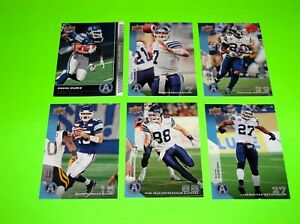 6-TORONTO-ARGONAUTS-UPPER-DECK-CFL-FOOTBALL-CARDS-27-78-81-82-88-142-2