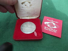 SOLID SILVER QUEEN ELIZABETH 2 THE GREAT PACIFIC & ORIIENT CRUISE 1978