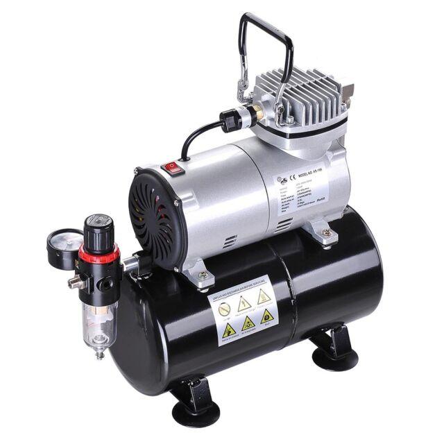 16HP Air Compressor with 3L Tank Pressure Regulator for Spray Gun Air Brush
