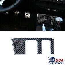 Carbon Fiber Interior Auxpower Outlet Cover Trim For Honda Civic Coupe 2013 15 Fits 2013 Honda Civic Si