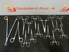 Horizon Weck Codman Vascular Surgical Instruments Clamps Aorta Medical Lot Of 15