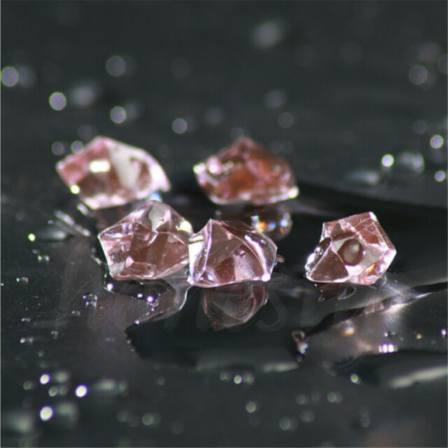 150900pcs Acrylic Crystal Ice Rock Stones For Aquarium Vase Gems