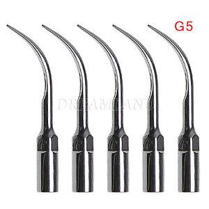 5-G5-Dental-Ultrasonic-Piezo-Scaler-Scaling-Tips-Fit-EMS-WOODPECKER-Handpiece-C