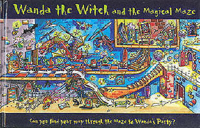 Good, Wanda the Witch & the Magical Maze (Childrens Maze Puzzles), Lagoon Books,