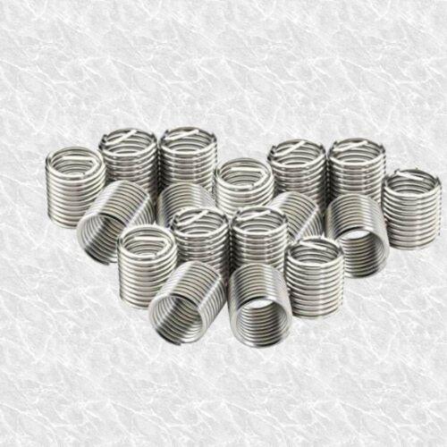 25 Pièces Helicoil Type Filetage Inserts M6 x 1 mm-Filetage Réparation bobines