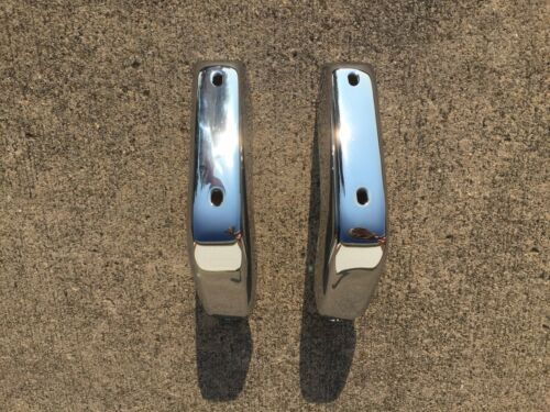 81-87 Regal NEW Chrome Front Bumper Bumperettes Guards Set