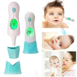 Baby Erwachsener Digital 4 In 1 Stirnohr Infrarot Ir Thermometer