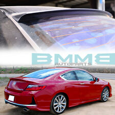 UNPAINTED FOR HONDA Accord 9th COUPE VRS STYLE WINDOW ROOF SPOILER 2016