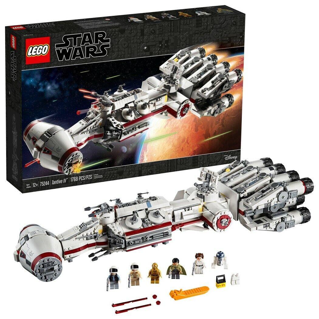 LEGO estrella guerras Tantive IV  75244 estrella Ship costruzione Kit Blasters e amp;  godendo i tuoi acquisti