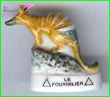 """Feve Les Animaux Sauvage Edition Atlas """" Le Fourmilier """" anteater #C48"""