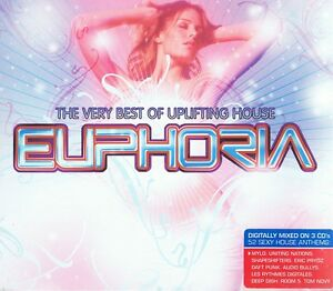 The-Very-Best-Of-Uplifting-House-Euphoria-3-CD-Daft-Punk-Shapeshifters-Moby