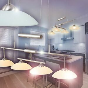 Das Bild Wird Geladen Pendellampe LED Design Haengeleuchte Wohn Zimmer Lampe Glas