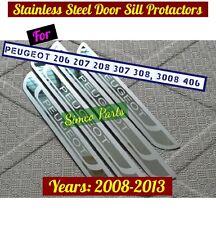 Peugeot 206 207 208 307 308, 3008 406 Door Sills Protractor Plates for 2008-13