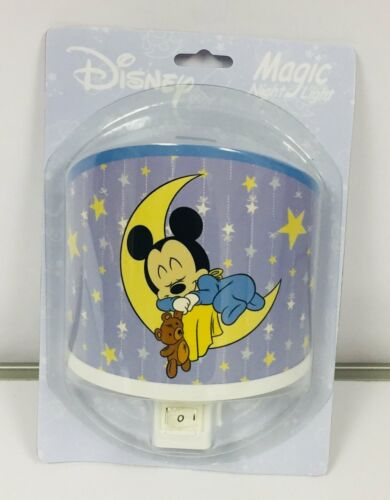 Mickey Mouse Looney Tunes Magic Changing Photo Lumière Nuit