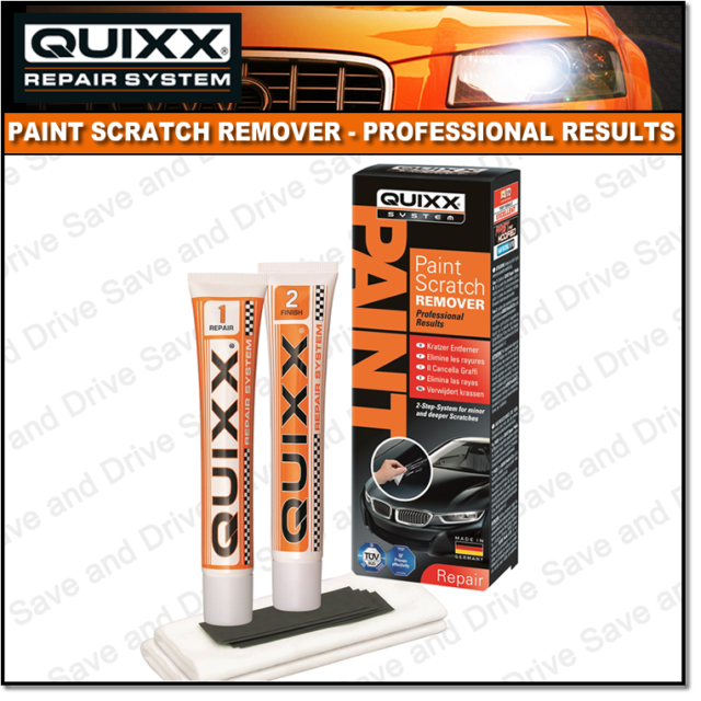 QUIXX Car Paintwork Scratch & Scuff Removal Touch Up Kit Professional Results