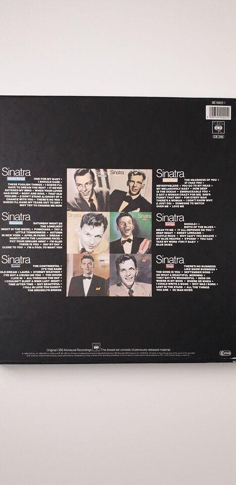 LP, Frank Sinatra, A 6 Record set