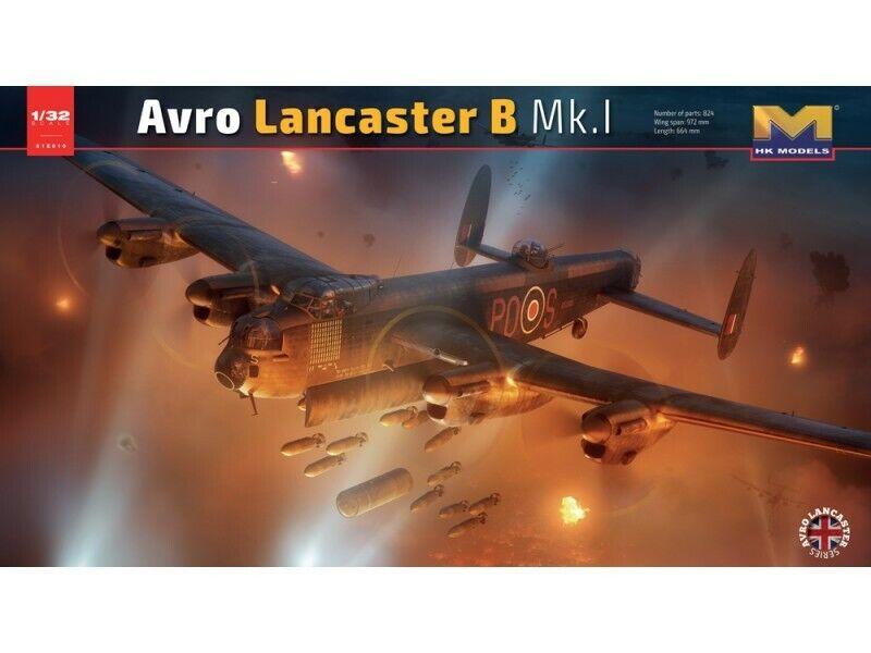 HK Models Avro Lancaster Mk I S-Sugar 01E10