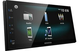 New-Kenwood-DMX125BT-2-DIN-Media-Player-USB-Mirroring-For-Android-Bluetooth