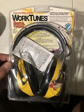 Peltor Ao Safety Work Tunes Portable Amfm Headphones Aos Yellow Hearing