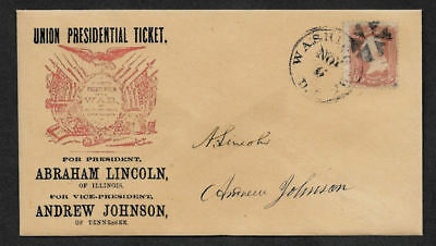 Buffalo Bill collector envelope w original period stamp 125 years old *OP1093