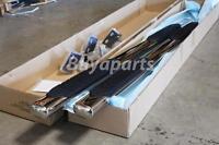 2009-2013 Dodge Ram 1500 Quad Cab 6 Oval Nerf Side Step Bar Running Board Pair