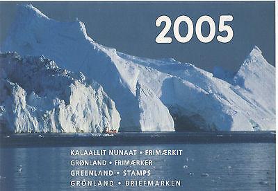 Greenland Yearset 2005 Jahrgang Briefmarken-jahrbuch Sparsam Grönland Postfrisch Ausreichende Versorgung