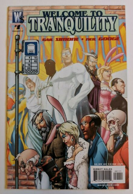 Welcome to Tranquility #1 DC Wildstorm Comic 2006 Gail Simone Neil Googe