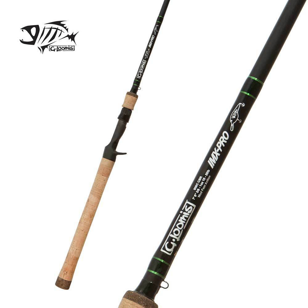 G Loomis IMX-PRO Deep-Flex  Crankbait Casting Rod 866C CBR DF 7'2  Heavy 1pc  everyday low prices