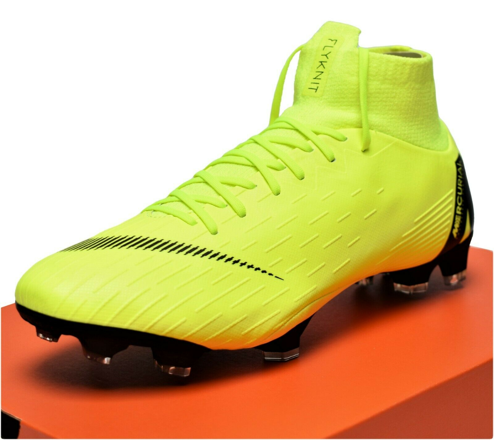 NIKE MERCURIAL SUPERFLY 6 PRO FG - New Men's Women's Soccer Cleats Volt Black