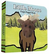Little Moose : Finger Puppet Book by Chronicle Books Staff and ImageBooks...