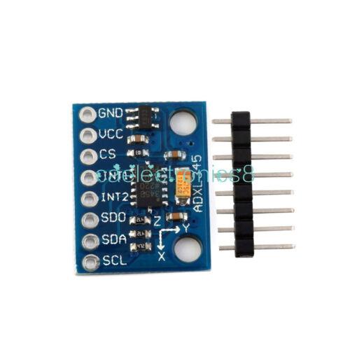 ADXL345 3-Axis Digital Acceleration of Gravity Tilt AVR ARM MCU Arduino CA