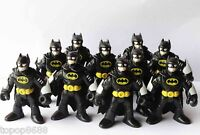 lot 10 Imaginext DC Super Friends Batman blACK Action Figure Fisher-Price Hero K
