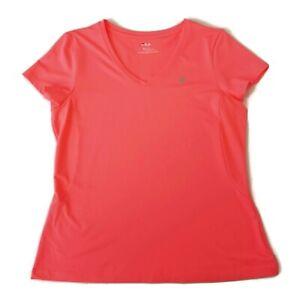 Fila-XL-Shirt-Bright-Orange-Stretch-Short-Sleeves-Active-Wear-Golf-Tennis-Top