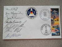 STS-55 Autographed Launch & Landing Crew Cover