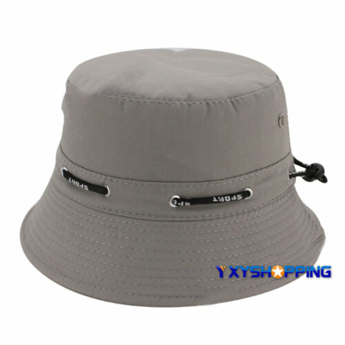 Men Women Bucket Boonie Hat Hiking Fishing Beach Festival Outdoor Summer Sun Cap
