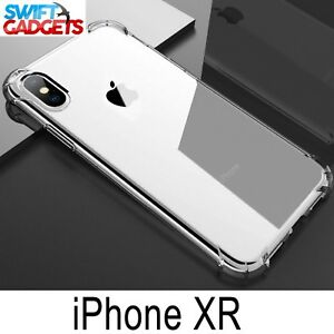 iPhone-XR-Case-Shock-Proof-Crystal-Clear-Soft-Silicone-Gel-Bumper-Cover-Slim