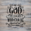God is For Us Stencil Durable /& Reusable Mylar Stencils
