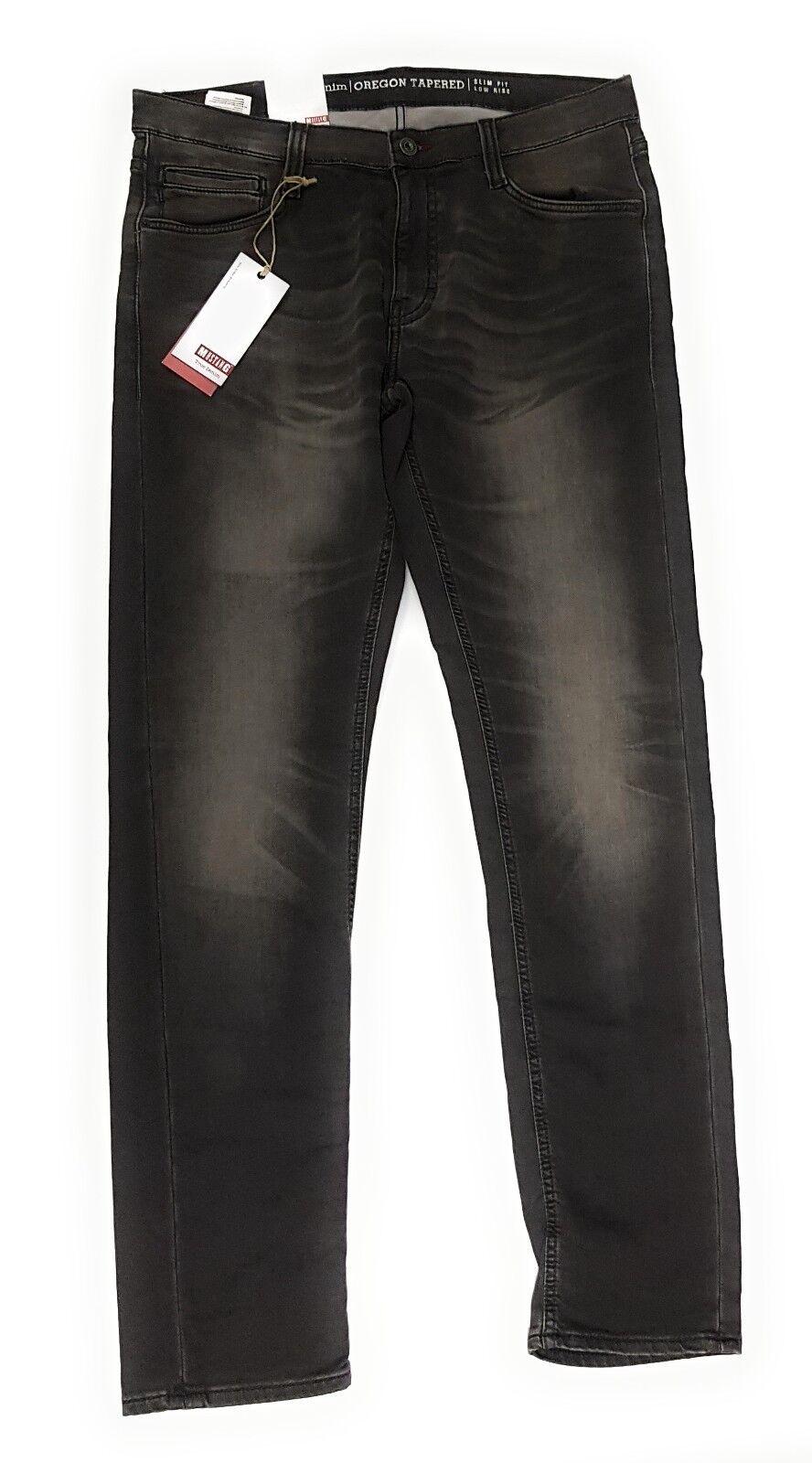 MUSTANG Herren Jeanshose Oregon Slim Low Taperot K 1001956 Jeans Hose Grau 313    Internationale Wahl    Ausgezeichnete Leistung    Qualität und Verbraucher an erster Stelle