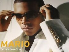 Mario Let Me Love You Aust. CD Single Rare 2005 Jadakiss T.I. Whiz Turning Point