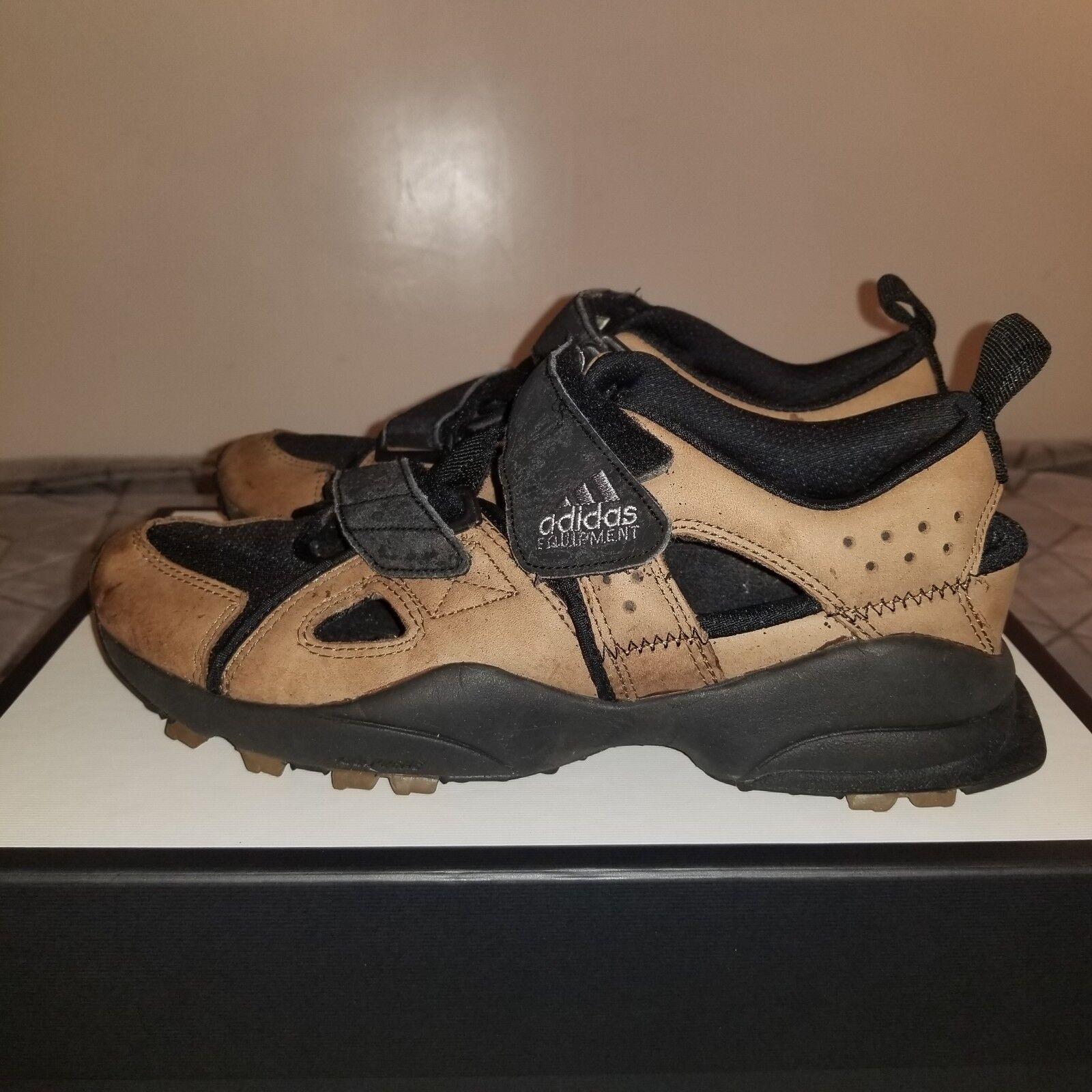B14 1995 Adidas Equipment Adventure Sandal ORIGINAL US Size 10 BROWN