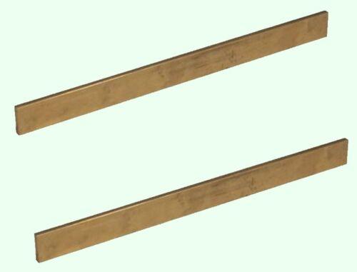 "Brass Flat Stock 1//8/"" x 1/"" x 1ft 2-12/"" Lengths 360 Solid Rectangle Strip"