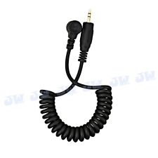 JJC Remote Control Cord Cable A for CANON 1D 5D Mark IV III 5DS R 7DM2 5DM4 5DM3