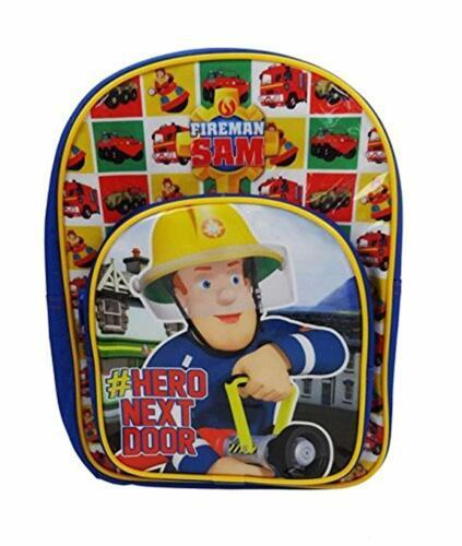 32 cm 9 Liters Fireman Sam Arch Pocket Children/'s Backpack Multicoloured