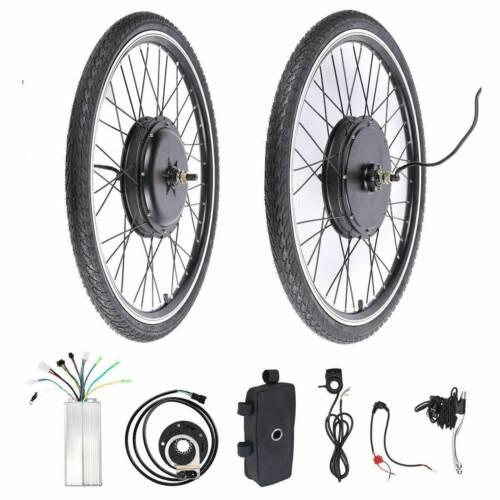 26 Zoll Ebike Elektro-Fahrrad Bike Motor Steurung Hinterrad Vorderrad 500//1000W