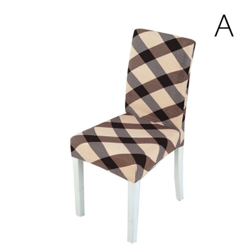 1PC Universal Spandex Seat Cover Chair Cover Dining Kitchen Stretch Slipcover