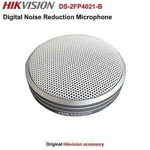 Hikvision DS-2FP4021-B Digital Noise Reduct Microphone For CCTV