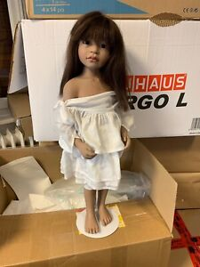 Philip Heath Vinyl Künstlerpuppe Puppe 60 cm. Top Zustand