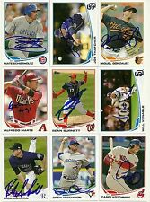 2013 Topps JOE THATCHER Signed Card auto PADRES INDIANAPOLIS, IN