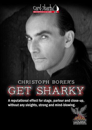 Get Sharky - Christoph Borer - Blau - gewählte Karte verschwindet EINARMIG